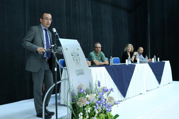inauguración del Symposium for Enterpreneurship Educators